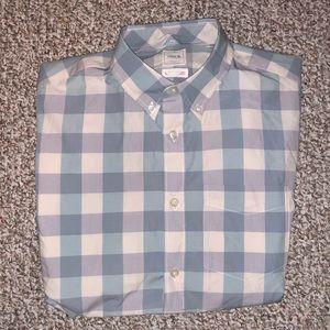 Gap Men's Check Plaid Shirt, Size Small